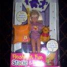 Flashlight Fun w/ Pooh Stacie Barbie Doll
