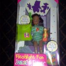 Flashlight Fun w/ Tigger Janet Barbie Doll