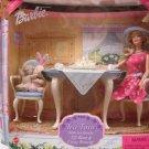 Tea Time with her friends, Li'l Bear & Cozy Bunny White Barbie Doll