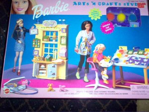 Barbie Arts & Crafts Studio Playset