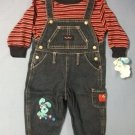 Blues Clues Denim Overall & Top Set - size 18m