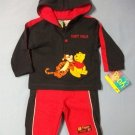 Pooh Baby Best Pals Sweatshirt Set - size 12m