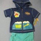 Rubbadubbers Swim Jacket & Short Set - size 18m