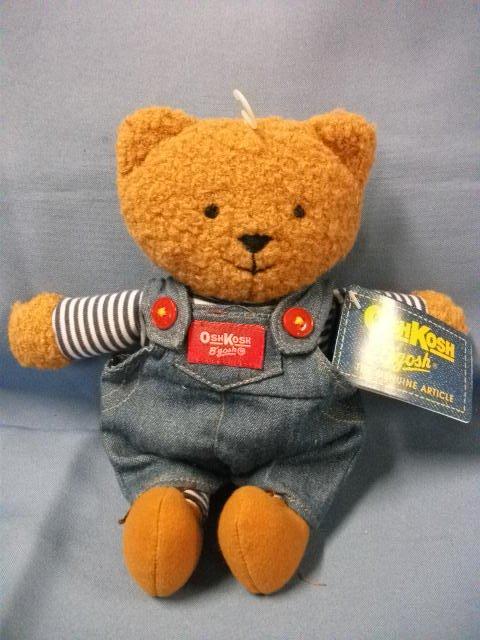 "Eden Toys OshKosh B'gosh Brown Bear 9"""