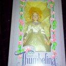 Dakin Thumbelina Doll White Fairy Dress - RARE MIB