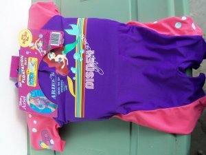 Disney Ariel Swim / Pool Flotation Suit