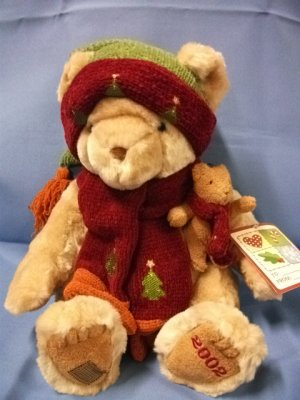 Cherished Teddies 16&quot; Plush Winter Edition