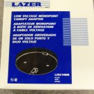 Halo Lazer Track Lighting Low Voltage Monopoint Canopy Adapter - Black - Set of 4