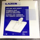Halo Lazer Track Lighting Live End with Canopy - White - Set of 3