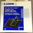 Halo Lazer Track Lighting Live End with Canopy - Black - Set of 3