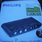 Philips Manual 3-way TV Game Switcher SFS2822T/17