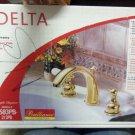 Delta 3583PB-212PB Brass Widespread Bathroom Faucet