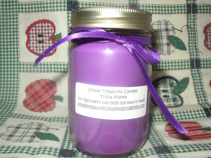 12 oz Jar Candle