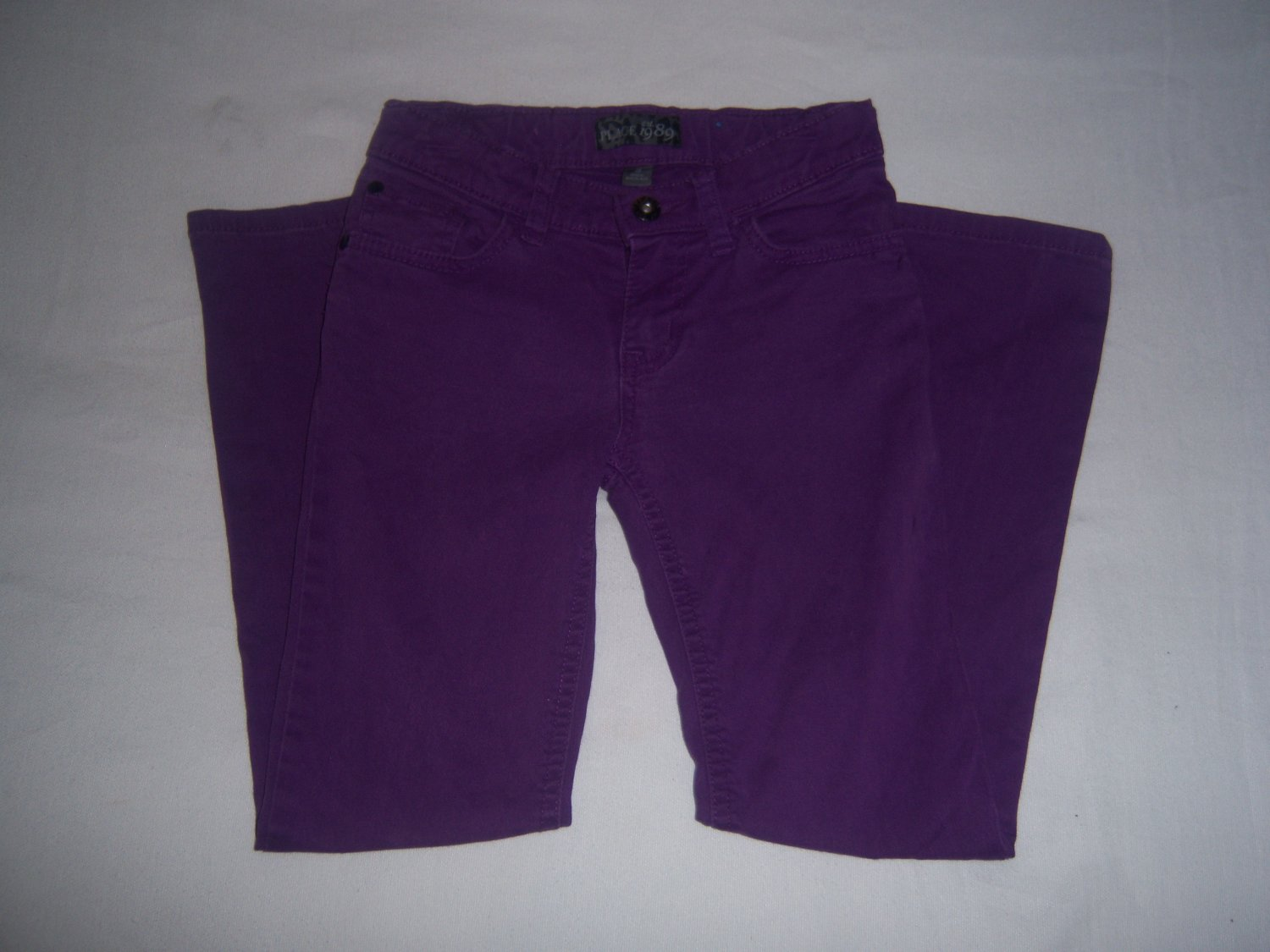 The Childrens Place Girl's Purple Denim Jeans Size 8