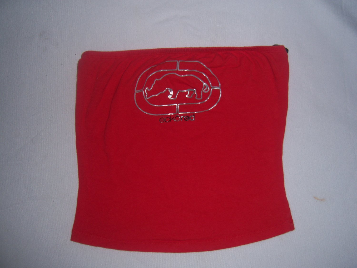 Ecko Red Women's Junior's Red Tube Top Size Medium