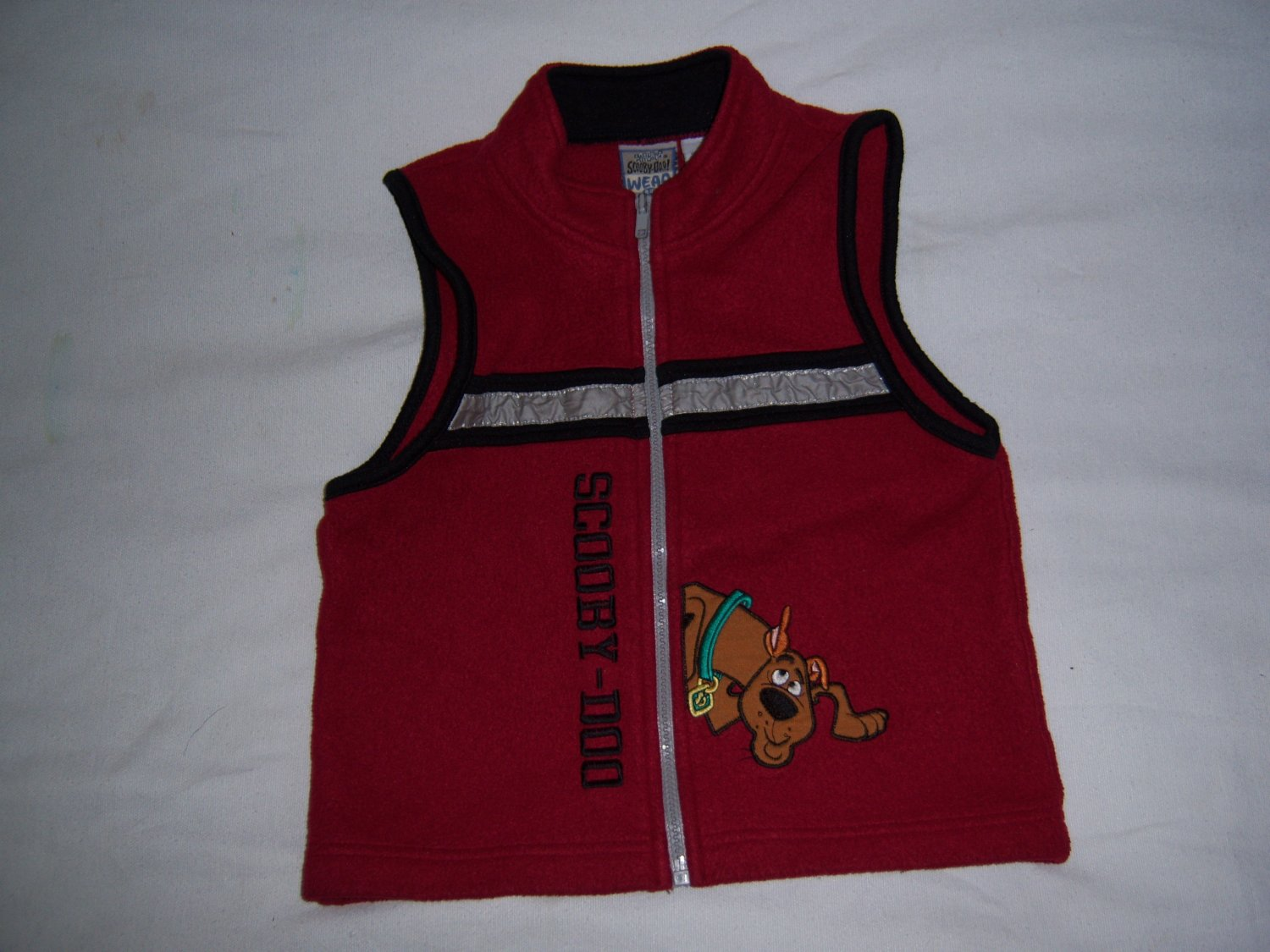 SCOOBY DOO WEAR LITTLE BOY'S FLEECE VEST SIZE 6