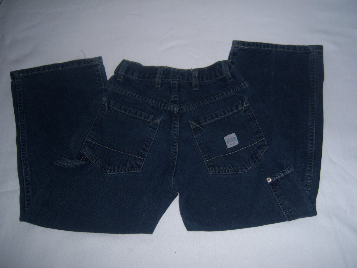 CANNON RIVER BLUES BOYS DRK WASH JEANS SIZE 8 REG