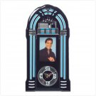 Elvis Jukebox clock
