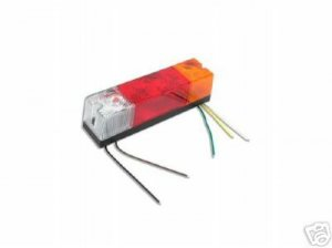 Forklift Universal Multi Functional Tail Light 12 Volt