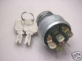 Clark Ignition Key Switch Part #2394129