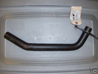 Yale Forklift Exhaust Pipe Part #504260706