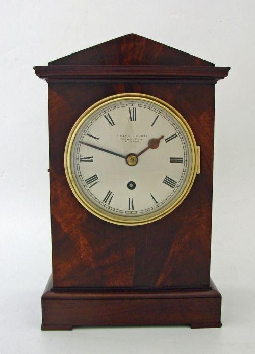 ENGLISH FUSEE TIMEPIECE BRACKET CLOCK