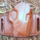Tagua Leather Belt Slide Gun Holster for S&W BODYGUARD 380 - Brown - Right-Hand Draw