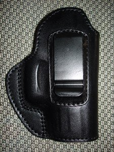 Gazelle In-the-Pants ITP IWB Leather Holster for GLOCK 26