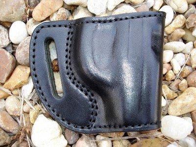 """Gazelle Leather """"Yaqui"""" Belt Slide Gun Holster for RUGER LCP 380"""