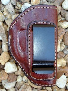 Gazelle In-the-Pants ITP IWB Leather Gun Holster for RUGER LCP and KEL-TEC 380, P3AT