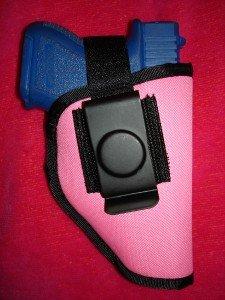 Pink Nylon Gun Holster for GLOCK 26 and 27