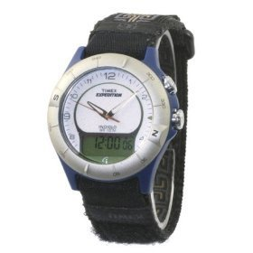 Timex Expedition Chrono Indiglo Velcro Men's Watch H2Y518