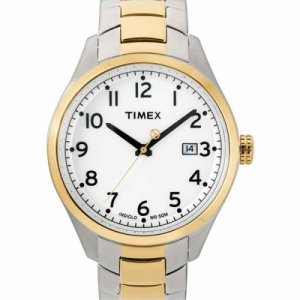 Closeout Timex Men's Two-Tone Watch T2M463