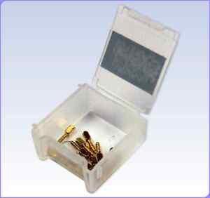 Dental PARMAX  dentatus 12 Gold Plated  Posts  - Free Shipping