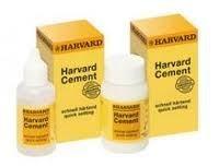 Dental Phosphate Cement Quick Setting by HARVARD (powder+Liq) - Free Shipping