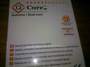 Dental Q Core Automix Dual Cure 50gr +tips+intraoral,by SilmetBJM  FREE SHIPPING