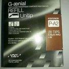 Dental G-aenial LC Radiopaque Composite Restorative Refil Unitip P-A2 20 tips