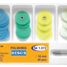 Dental Polishing Discs 16mm Gross Reduction+Contouring+Finishing+Polishing+Mand