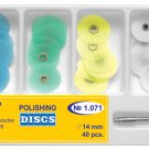 Dental Polishing Discs 14mm Gross Reduction+Contouring+Finishing+Polishing+Mand