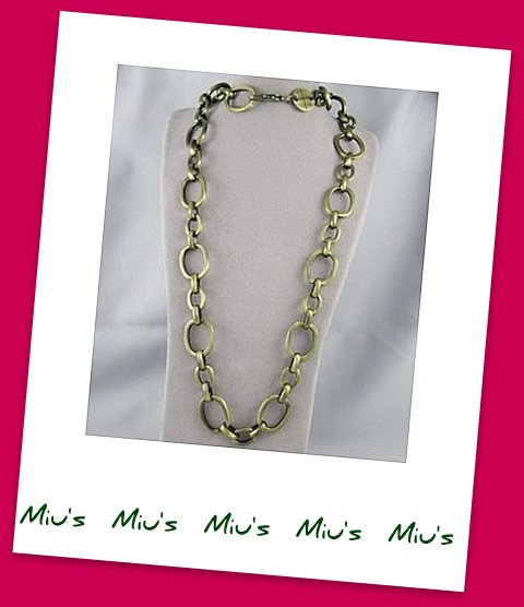 Heavy Metal Exaggerate 85cm Long Necklace (zz.20)