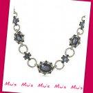Royal Style Glamorous Imitation Gemstones 40cm Necklace (zz.105)