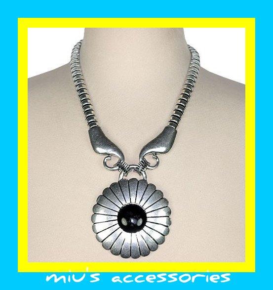 Miu's Chuncky Punk Ethnic 44cm Collar Necklace (mis.16)