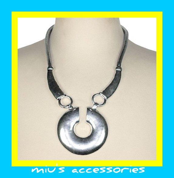 Miu's Punk Rock'n Roll 45cm Collar Necklace (mis.18)