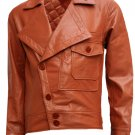 The Aviator Movie Leonardo DiCaprio Leather Jacket