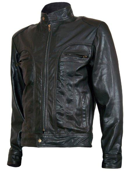 """Matthew"" Ghosts of Girlfriends Past Leather Jacket"