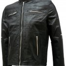 Black Flash Point Donnie Yen Leather Jacket