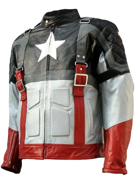 Captain America Black - The First Avenger Leather Jacket