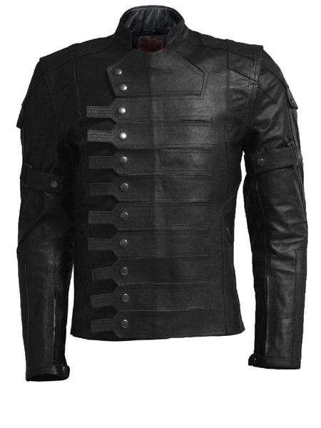Winter Soldier Captain America Leather Jacket