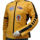 Women Biker Movie Kill Bill Leather Jacket