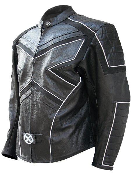 Ice-Man Black Fashion X-Men Leather Jacket